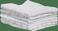MOTHERHOOD Mušelínové bavlněné ubrousky (30x30 cm) - šedé Classics