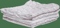 MOTHERHOOD Bambusové mušelínové ubrousky (30x30 cm) – růžový ptáček