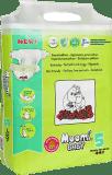 MUUMI Baby Maxi + 44 ks (10-16 kg) - jednorazové plienky