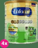 4x ENFAMIL Premium 4 (800g) Mleko modyfikowane od 2. roku