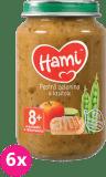 6x HAMI Pestrá zelenina s morkou 200 g - mäsovo-zeleninový príkrm
