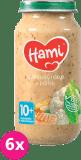 6x HAMI Karfiolový nákyp s morkou 250 g - mäsovo-zeleninový príkrm