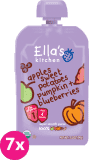 7x ELLA'S Kitchen Sladké zemiaky, tekvica, jablko a čučoriedky 120g