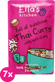 7x ELLA´S Kitchen Thai Curry – tajskie kari 190 g