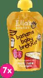 7x ELLA´S Kitchen Śniadanie - Banan i jogurt 100 g