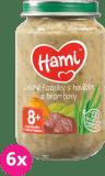 6x HAMI Zelené fazuľky a hovädzie mäso so zemiakmi (200 g) - mäsovo-zeleninový príkrm