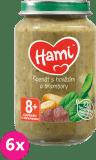 6x HAMI Špenát, zemiaky a hovädzie (200 g) - mäsovo-zeleninový príkrm