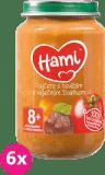 6x HAMI Paradajky s hovädzím a zemiaky (200 g) - mäsovo-zeleninový príkrm