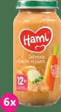 6x HAMI Roláda - zelenina a teľacie mäso (250 g) - mäsovo-zeleninový príkrm