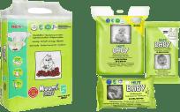 MUUMI Zestaw startowy Baby Maxi+ 44 szt. (10-16 kg)