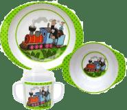 KRTEK A MAŠINKA - sada nádobí - Večerníček 4 druhy
