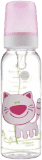 CANPOL BABIES Láhev s potiskem 250 ml bez BPA – kočička