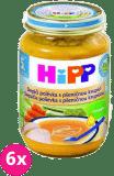 6x HIPP BIO Kuracia polievka s pšeničnou krupicou (190 g)