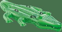 INTEX Krokodýl nafukovací s úchyty, 203x114cm