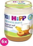 6x HIPP BIO Jogurt s ovocím, 160 g - ovocný přírkm