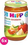 6x HIPP BIO PASTA BAMBINI Zeleninové lasagne, 220 g - zeleninový příkrm