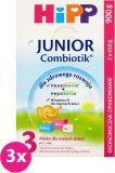 3x HIPP Junior Combiotik 3 dla małych dzieci po 1. roku 900 g – mleko modyfikowane