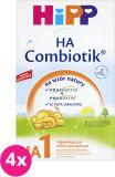 4x HIPP 1 HA Combiotik (500g) - Mleko początkowe