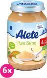 6x ALETE BIO Hruška 190 g – ovocný příkrm
