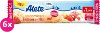 6x ALETE Tyčinka jahodovo-mléčná 25 g