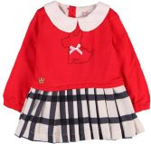BOBOLI Společenské dívčí šaty, vel. 98 - červená, holka