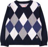 BOBOLI Elegantní pulover, vel. 80 - modrá, kluk