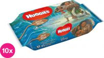 10x HUGGIES® N'Care Disney Moana, 56 szt – wilgotne chusteczki