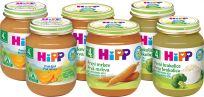 HIPP BIO Balenie prvých zeleninových príkrmov (6 x 125 g) - mrkva, tekvica, brokolica