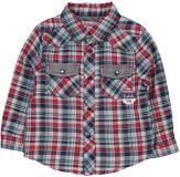 BOBOLI Kostkovaná košile 80cm kluk - kostka