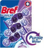 BREF Purple Aktiv WC blok (3x50 g) – čistič toalety