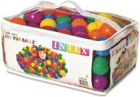 TEDDIES Piłeczki do kątów zabaw 6,5 cm kolorowe, 100 szt.