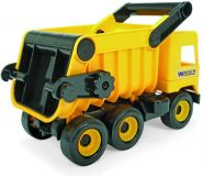 WADER Auto middle Truck sklápač, 38 cm žltý