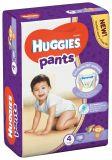 HUGGIES® Pants Jumbo 4 (9-14 kg), 36 ks - plenkové kalhotky
