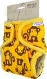 PETIT LULU SIO Complete patentky - Žluté opičky