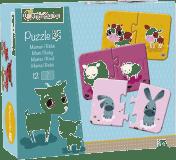 AVENUE MANDARINE Duo puzzle Maminka a mládě 12 ks
