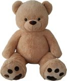MAC TOYS Medvěd 135 cm – béžový