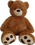 MAC TOYS Medvěd 135 cm – čokoládový