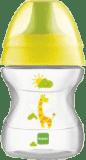 MAM Hrnek na učení LEARN TO DRINK CUP 190 ml, 6+ měsíců-žlutá – náhodný motiv