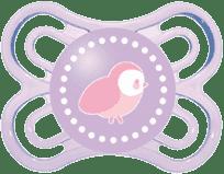 MAM Dudlík Perfect silikon (0-6m) – fialová – náhodný motiv
