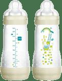 MAM Kojenecká láhev Anti-Colic 320 ml, 4+ měsíce – zelená
