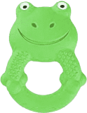 MAM Kousátko Friends Žába Max, 4+ měsíce – zelená