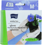 AMBULEX Rukavice latexové pudrované M, 10 ks