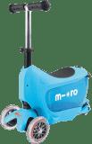 MICRO Mini2go Deluxe Jeździk-Hulajnoga – niebieski
