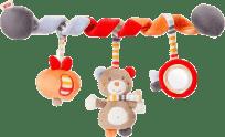 NUK Forest Fun Zabawka spirala – miś