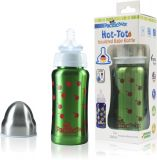 PACIFIC BABY Hot-Tot Termoska 200 ml zelená-třešně