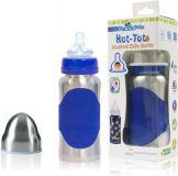 PACIFIC BABY Hot-Tot Termobutelka 200 ml – niebieska/srebrna
