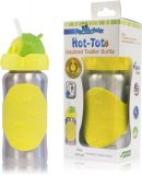 PACIFIC BABY Hot-Tot Termoska s brčkem 260 ml žlutá