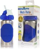 PACIFIC BABY Hot-Tot Termoska so slamkou 260 ml modrá