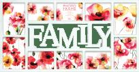 FOTORÁM bílý Maggiore Family pro 10 fotografií