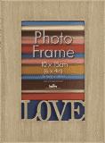 FOTORÁMEČEK s nápisem Love pro fotografii 10x15 cm